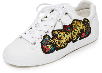 Ash Niagara Embroidered Sneakers $190 thestylecure.com