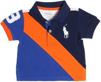 Ralph Lauren Childrenswear Color Block Cotton Piqué Polo Shirt