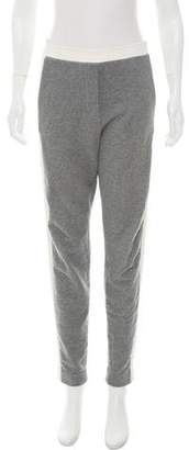 3.1 Phillip Lim Silk-Trimmed High-Rise Pants