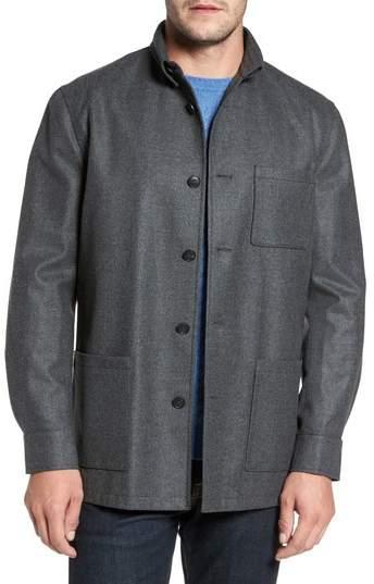 David Donahue Loro Piana Storm System Shirt Jacket