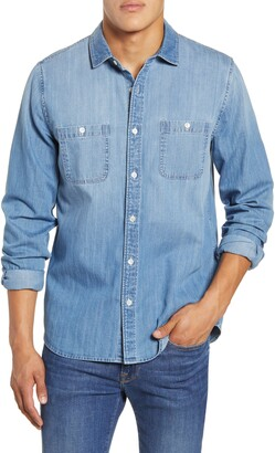 Frame Classic Fit Chambray Shirt