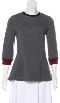 Christian Dior Neoprene Long Sleeve Top