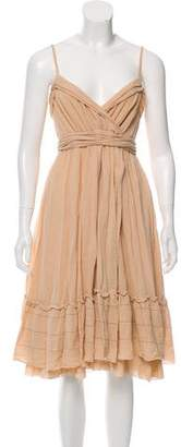 Diane von Furstenberg Empire Waist Sleeveless Dress