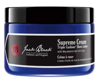 Jack Black Supreme Cream Triple Cushion(R) Shave Lather Jar