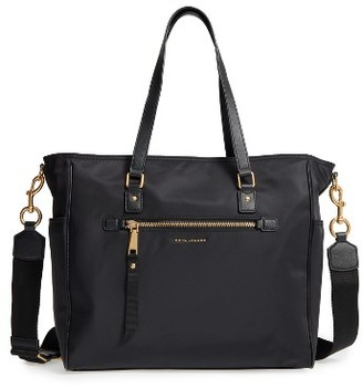 Marc Jacobs Trooper Nylon Baby Bag - Black $325 thestylecure.com