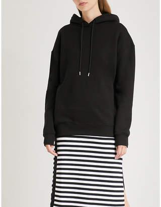 NINETY PERCENT Laura oversized cotton-jersey hoody