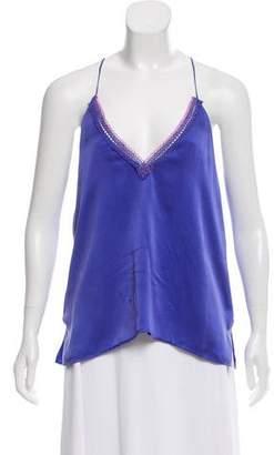 CAMI NYC Sleeveless Silk Top