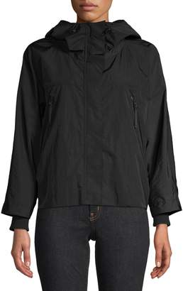 Max Mara Hooded Zip Jacket
