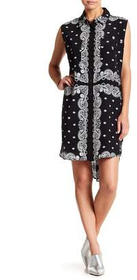 KENDALL + KYLIE Kendall & Kylie Sleeveless Bandana Silk Dress