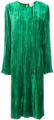 Forte Forte crease effect velvet dress