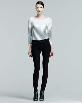 Rag & Bone The Legging Jeans, Black Plush