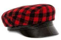 Buffalo David Bitton Avec La Troupe Cotton Plaid Majorette Hat