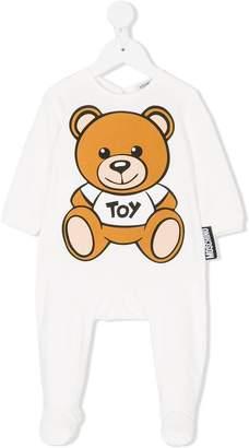 Moschino Kids teddy babygrow