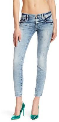Diesel Grupee Super Slim Skinny Ankle Jeans