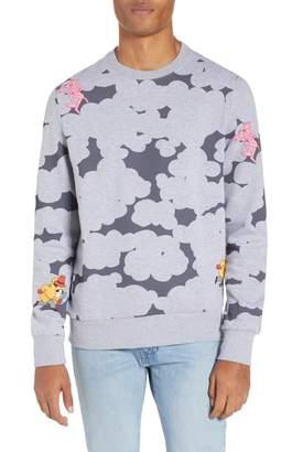 Eleven Paris ELEVENPARIS Pink Panther Camo Sweatshirt