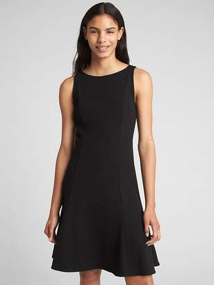 Gap Sleeveless Fluted Dress