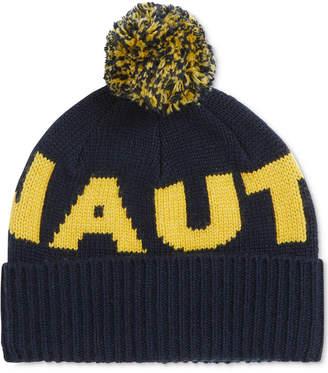 Nautica Men's Logo Pom Hat