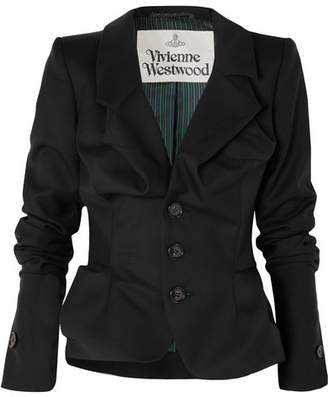 Vivienne Westwood - Alcoholic Wool-twill Blazer - Black
