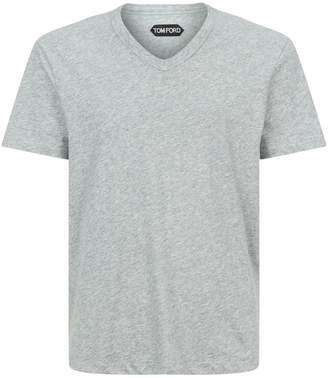 Tom Ford Cotton V-Neck T-Shirt