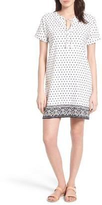 Women's Vineyard Vines Print Cotton Tunic Dress $148 thestylecure.com
