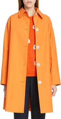 Mansur Gavriel Coated Poplin Coat