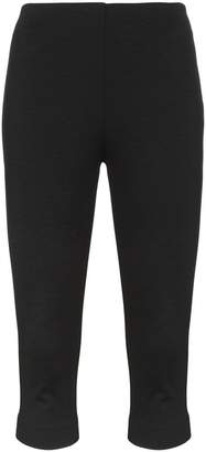 Maryam Nassir Zadeh high waisted cropped cotton blend pedal pushers