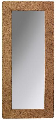 Jamie Young Harbor Floor Mirror - Natural Sea Grass