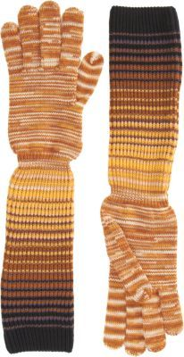 Missoni Long Slouchy Knit Gloves