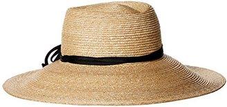 Gottex Women's Capri Fine Milan Adjustable Straw Hat with Ribbon Trim with Upf 50+ $54.73 thestylecure.com