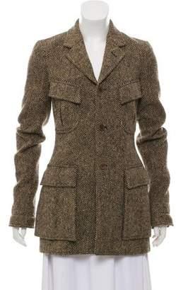 Ralph Lauren Wool Tweed Coat