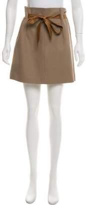 Brunello Cucinelli Textured Mini Skirt w/ Tags