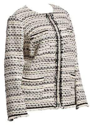 Lafayette 148 New York Lafayette 148 New York, Plus Size Benji Tweed Jacket