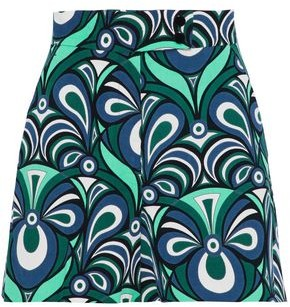 M Missoni Printed Cotton-corduroy Shorts