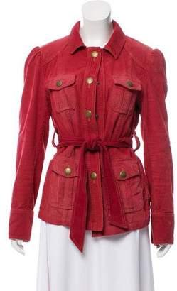 Marc Jacobs Belted Corduroy Jacket