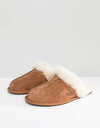 8b96881c2c6f at Asos · UGG Scuffette II Chestnut Slippers