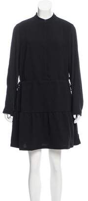 AllSaints Long Sleeve Mini Dress