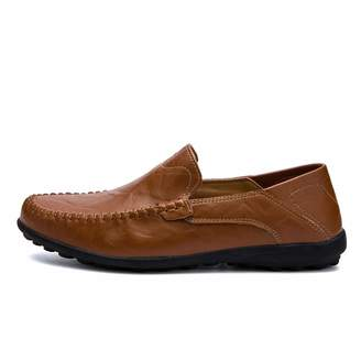 02a4dbcb903 at Amazon Canada · Fairy-Margot Men Shoes Casual Mens Loafers Genuine  Leather Soft Moccasins Slip on Driving Shoes