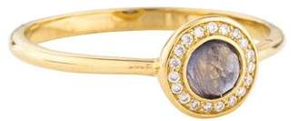 Ippolita 18K Iolite & Diamond Mini Lollipop Cocktail Ring