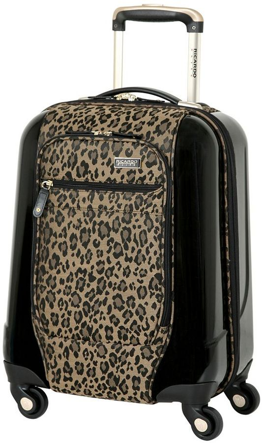 Ricardo Beverly Hills luggage, crystal city 17-in. spinner carry-on