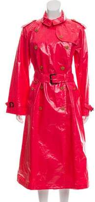 Burberry Coated Trench Coat