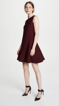 Victoria Beckham Victoria Flounce Hem Shift Dress