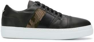 Neil Barrett camouflage detail sneakers