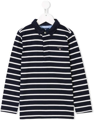 Gant Kids long sleeve polo shirt