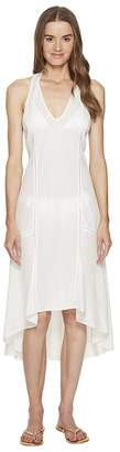 Jonathan Simkhai Lace Racerback Flare Dress Cover-Up Women's Dress