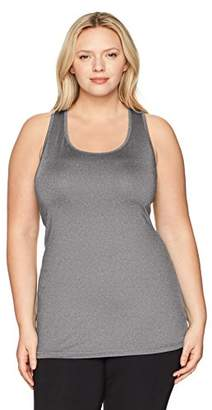 Just My Size Women's Plus Size Active Racerback Jersey Tank Top