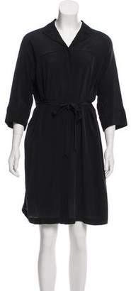 See by Chloe Silk Knee-Length Dress