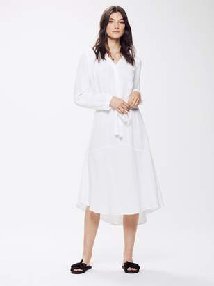 Xirena XiRENA Evynn Chelsea Gauze Dress - White