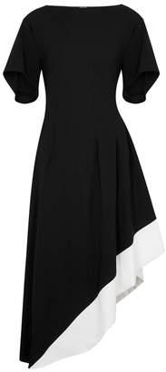 Loewe Black Asymmetric Midi Dress