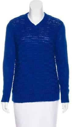 Tibi Wool Blend Open Knit Sweater w/ Tags
