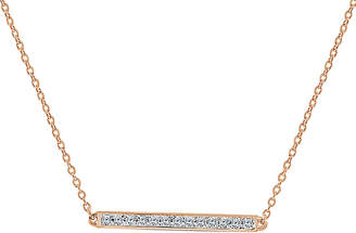 Sabrina Designs 14K Rose Gold 0.10 Ct. Tw. Diamond Necklace